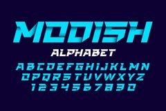Modish, trendy style alphabet Stock Photo