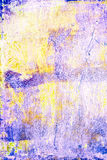 Trendy Summer  Art Background. Grunge Colorful  Textured Backdro Royalty Free Stock Photo