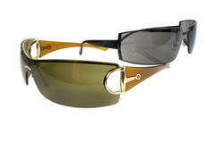 Trendy sunglases. Pair of trendy sunglases royalty free stock image