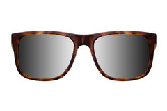 Trendy sunglasses with a reflection on lenses royalty free stock photo