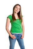 Trendy Teen Girl Stock Photography