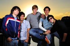 Trendy Teenager Group Stock Image
