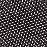 Trendy Texture With Scattered Geometric Shapes. Vector Seamless Pattern. Stock Photos