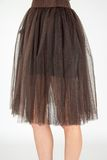 Trendy tutu sytle fashion skirt Royalty Free Stock Photo