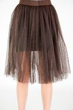 Trendy tutu sytle fashion skirt Royalty Free Stock Image