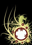 Trendy vector floral design Stock Photos