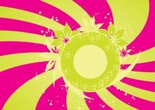 Trendy vector floral design Royalty Free Stock Photos