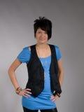 Trendy vrouwelijke tiener Stock Fotografie