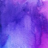 Trendy watercolor background, pink, navy blue and purple. Great design element for brochure, banner, cover, booklet, UI royalty free stock photos