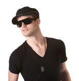 Trendy Young Man Royalty Free Stock Photo