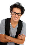 Trendy young man Royalty Free Stock Images