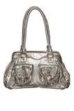 Trendy zilveren beurs stock afbeeldingen