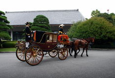 Trener dla cesarza Obrazy Royalty Free