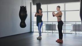 Trener i jego uczeń ćwiczenia dla rozwoju muskulatura zbiory