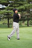 trenerem golfa Obrazy Stock