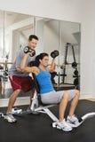 trenerze fitness Zdjęcia Royalty Free