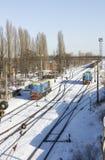 Trenes Imagenes de archivo