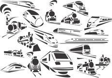 Trenes Imágenes de archivo libres de regalías