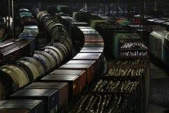 Trenes de carga Fotos de archivo libres de regalías