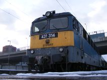 Trenes del húngaro Foto de archivo