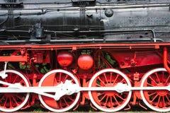 Trenes del vapor fotografía de archivo