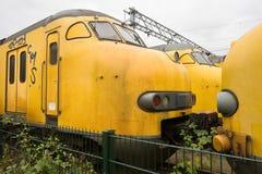 Trenes holandeses del modelo 1964 Imagen de archivo libre de regalías