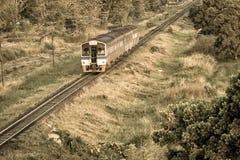 Trenes locales imagen de archivo libre de regalías