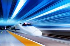 Trenes rápidos Fotos de archivo libres de regalías