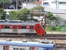 Trenes urbanos Imagen de archivo