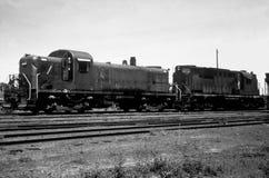 Trenes viejos Foto de archivo