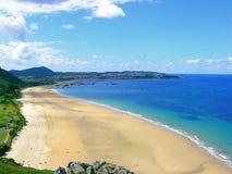 Trengandin beach in Noja Stock Photo
