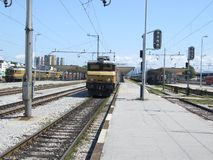 Treni Fotografie Stock