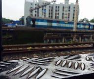 treni fotografia stock