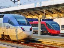 Treni 002 Fotografie Stock Libere da Diritti
