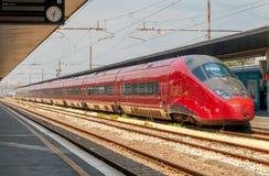 Treni ad alta velocità in Italia Immagini Stock Libere da Diritti