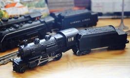 Treni del giocattolo fotografia stock libera da diritti