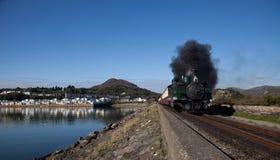 Treni del vapore Fotografie Stock Libere da Diritti