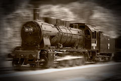Treni del vapore Fotografie Stock