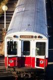 Treni dell'alosa di Boston Fotografia Stock Libera da Diritti