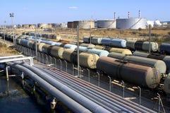 Treni dell'olio Immagine Stock Libera da Diritti