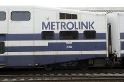 Treni di collegamento della metropolitana Fotografia Stock