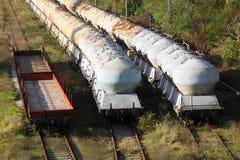 Treni di trasporto Fotografie Stock