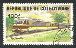 Treni, gazzella locomotiva Immagine Stock Libera da Diritti