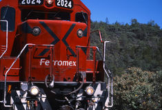 Treni messicani Immagini Stock