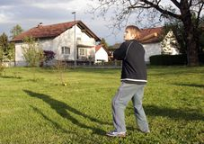 trening baseballa Zdjęcie Stock