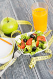 Trening i sprawności fizycznej kopii przestrzeni dieting dzienniczek Zdjęcie Royalty Free
