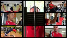 Trening redagująca sekwencja zdjęcie wideo