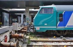 Trenitalia drev i Italien Royaltyfria Foton