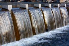 Trennvorhang des Wassers Lizenzfreies Stockfoto