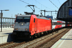 Treno 04 Immagini Stock